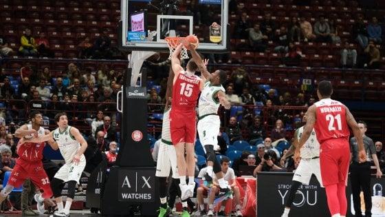 Basket, serie A: Milano batte Avellino e ipoteca il primato. Ok Venezia, Cremona e Brindisi