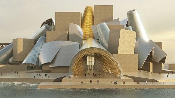 Abu Dhabi. Finalmente il nuovo Guggenheim di Gehry. Sarà pronto nel 2022