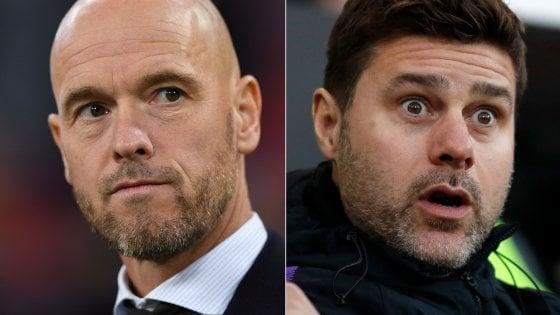 """Champions, Tottenham-Ajax; Pochettino: """"Fondamentale l'approccio"""", ten Haag: """"La semifinale non ci basta"""""""