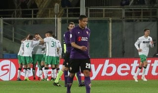 Fiorentina-Sassuolo 0-1: Berardi sbanca il Franchi, notte fonda viola