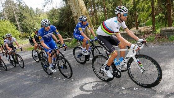 Ciclismo, Valverde rischia di saltare il Giro d'Italia
