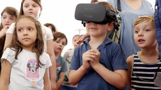 La realtà virtuale contro l'ansia dei bimbi per le iniezioni