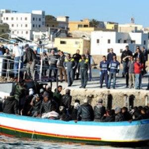 Migranti, nuovo sbarco a Lampedusa