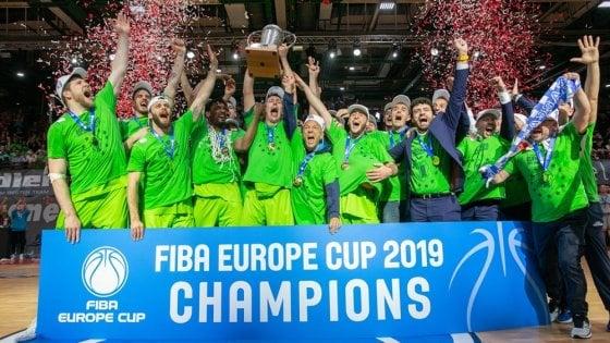Basket, Sassari vince la Fiba Europe Cup: Wurzburg ko 79-81