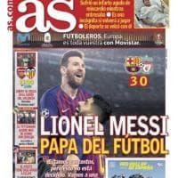 La stampa celebra Messi: il Papa del calcio