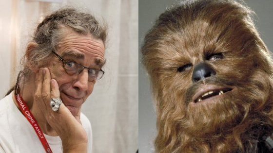 È morto Peter Mayhew, l'amato Chewbecca di Star Wars
