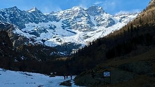 Alagna. Monte Rosa slow