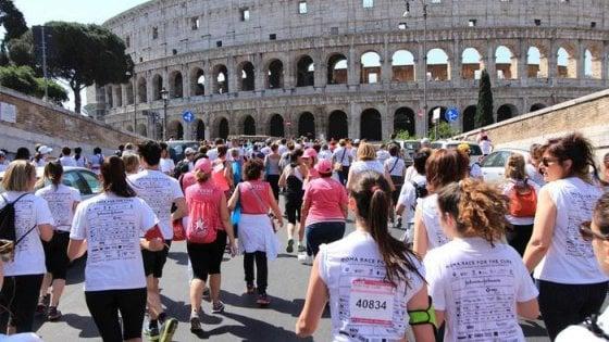 Sei città diventano rosa per i 20 anni di Race for the Cure