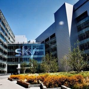 La sede di Sky a Milano Rogoredo