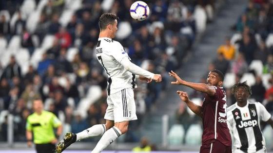 Juventus-Torino 1-1: Lukic illude i granata, poi ci pensa Cristiano Ronaldo