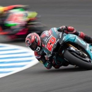 Motogp, Spagna: Quartararo pole a sorpresa. Male Valentino Rossi