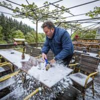 Neve tra Olanda e Germania; a maggio non la si vedeva da 40 anni