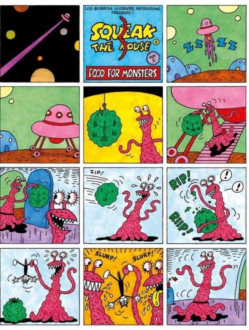 Squeak the mouse: le tavole del fumetto di Massimo Mattioli