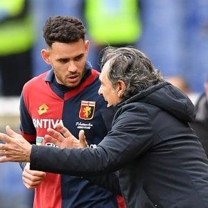 """Genoa, Prandelli: """"Roma quadrata non dobbiamo perdere fiducia"""""""