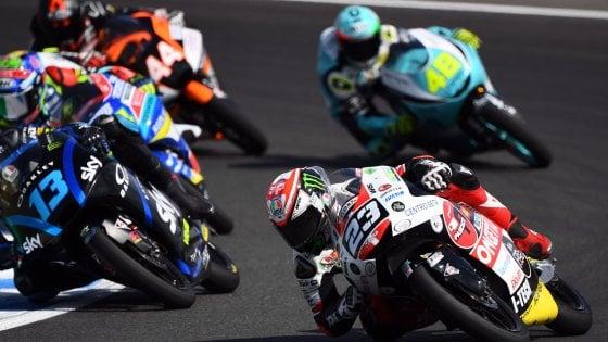 Moto 3, Jerez: Antonelli-Suzuki, doppietta nel nome di Simoncelli