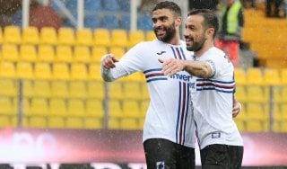 Parma-Sampdoria 3-3: doppietta di Quagliarella, Kucka e Bastoni salvano i ducali