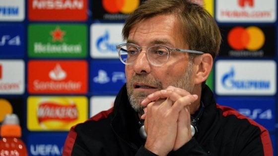 """Champions: Liverpool-Barcellona; Klopp: ''Assenti Salah e Firmino''. Valverde: """"Non è ancora fatta"""""""