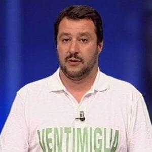 """Tv, Salvini non ha voglia di andare dalla Gruber. E lo dice in un comizio. La giornalista: """"Resti pure a casa. O vada al ministero"""""""