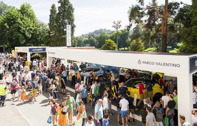 """Parco Valentino, torna il salone dell'auto """"en plein air"""""""
