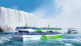 Cascate Niagara a zero emissioni con le imbarcazioni elettriche