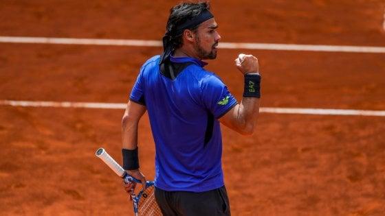 Tennis, Madrid: Fognini agli ottavi, esordio vincente per Nadal