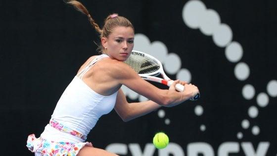 Tennis, problemi al polso: Camila Giorgi salta gli Internazionali