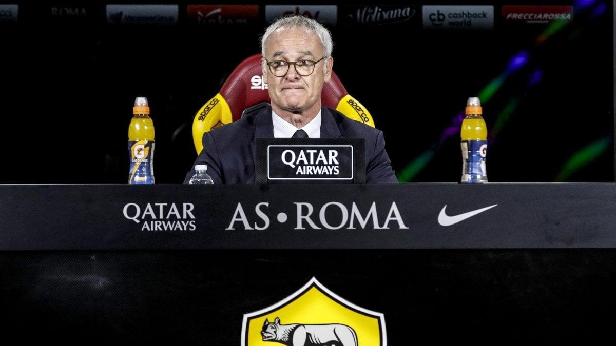 """Roma, l'annuncio di Ranieri: """"A fine stagione andrò via"""""""
