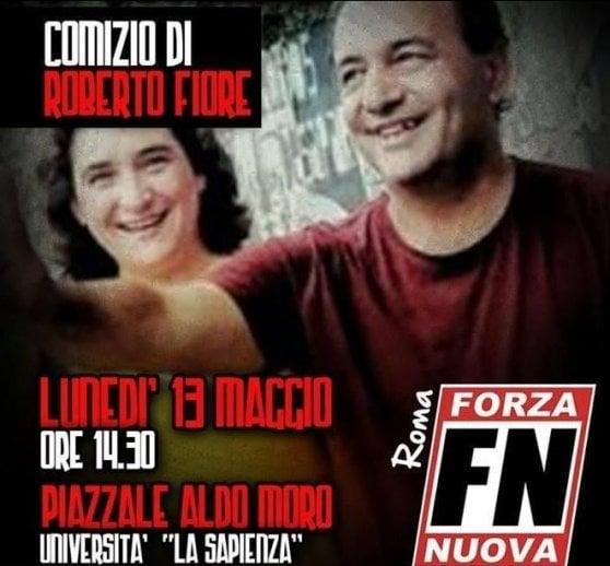 """Forza Nuova: """"Impediremo discorso di Lucano alla Sapienza"""". Il sindaco: """"Non mi spaventano"""""""
