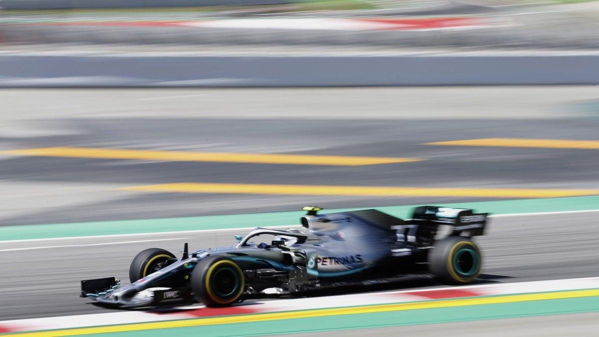 F1, Gp Spagna: seconde libere, Ancora le Mercedes davanti