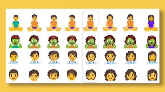 In arrivo nuove emoji neutre di Google, arriva l'inclusione 3.0