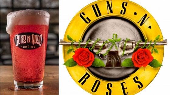 "Guns N'Roses fanno causa a una birra: ""Danno irreparabile"""