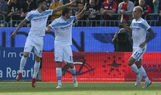 Cagliari-Lazio 1-2, Luis Alberto e Correa tengono viva l'Europa biancoceleste
