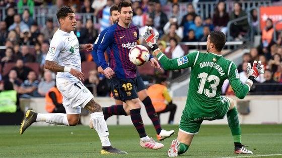 Spagna, il Barcellona reagisce e inguaia il Getafe. Perde il Real Madrid