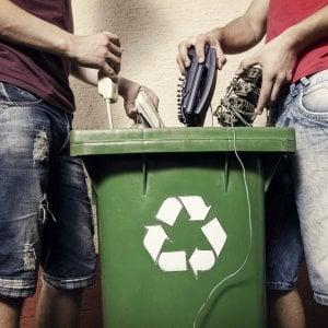 Ecodom, primato per rifiuti elettronici gestiti: oltre 100mila tonnellate