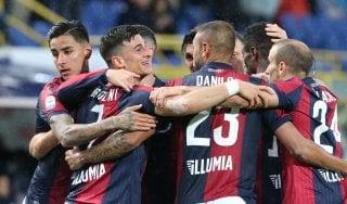 Bologna-Parma 4-1: Orsolini, Lyanco e due autogol, rossoblù praticamente salvi