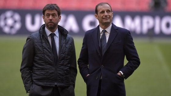 Juventus: Allegri-Agnelli, il giorno della verità. Senza rinnovo sarà addio