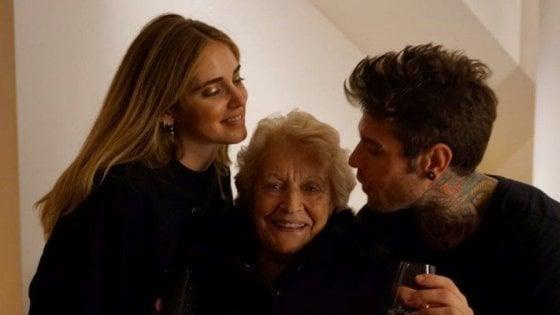 Fedez riporta nella Rete nonna Luciana: e le regala un account Instagram