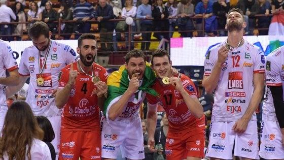 Volley, Superlega: Civitanova campione d'Italia, Perugia si arrende al tie-break