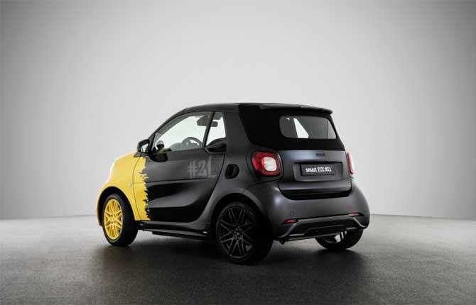 """Smart """"Final Collector's Edition"""", addio al motore a combustione interna"""