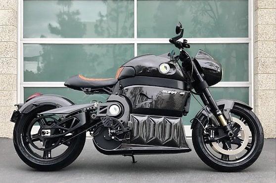 La moto elettrica diventa si superlusso