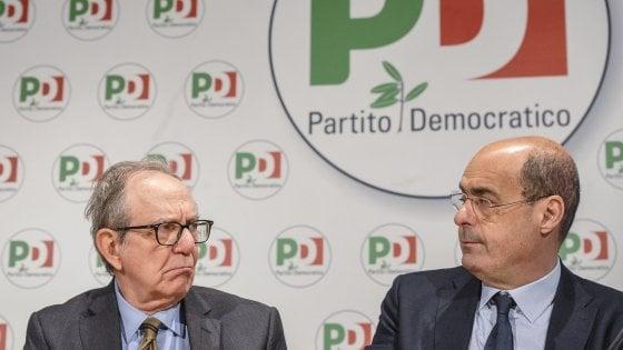 """Il Pd lancia il suo 'Piano per l'Italia'. Zingaretti: """"Meno tasse, uno stipendio in più all'anno per 20 mln italiani"""""""