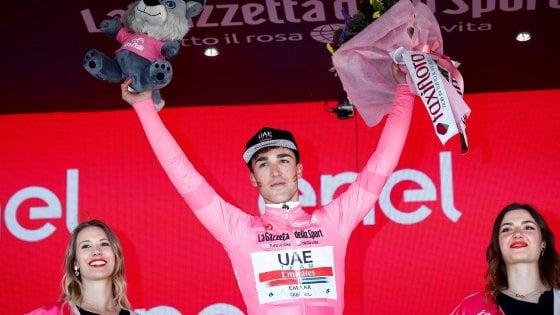 Giro, trionfa la giovane Italia: Conti in rosa, tappa a Masnada