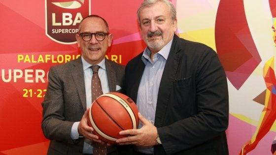 Basket, serie A: Bari sarà teatro della Supercoppa 2019