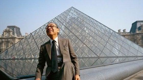 Muore a 102 anni l'architetto Pei: disegnò la Piramide del Louvre