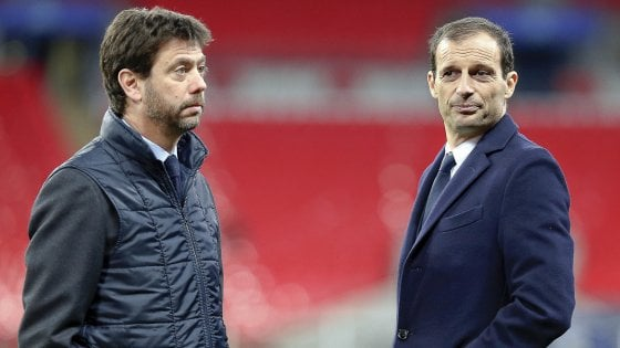 """Juventus, è divorzio con Allegri: """"Sono stati 5 anni d'amore"""". E il titolo cresce in Borsa"""