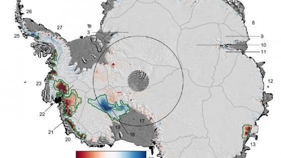 """Antartide, nell'Ovest un quarto di ghiacciai instabili. """"Rischio per innalzamento dei mari"""""""