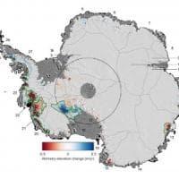 """Antartide, nell'Ovest un quarto di ghiacciai instabili. """"Rischio per innalzamento dei..."""