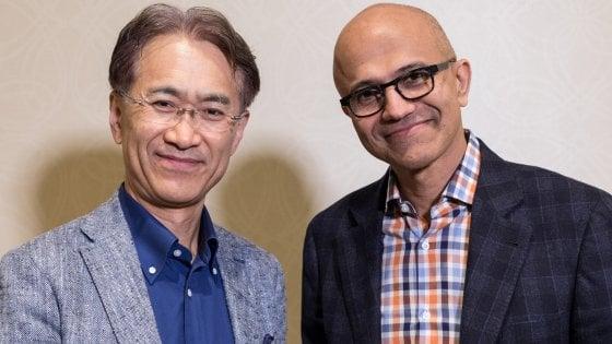 Microsoft, pace con Sony: accordo su giochi in streaming
