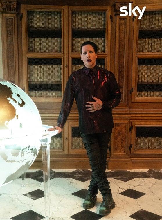 'The New Pope', Sharon Stone e Marilyn Manson sul set di Paolo Sorrentino