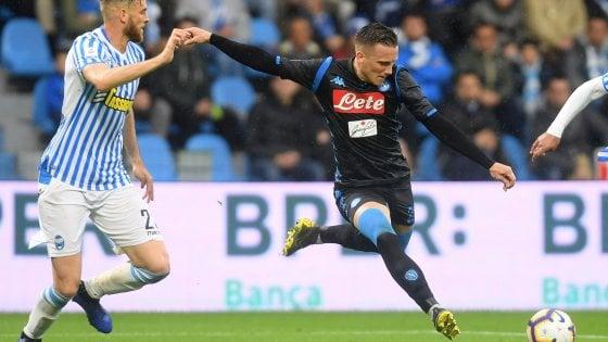 """Napoli, Zielinski: """"Stagione positiva ma abbiamo mancato gli obiettivi"""""""